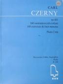 160 osmitaktových cvičení op. 821 - Czerny Carl