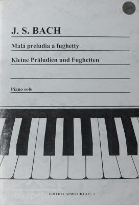 Malá preludia a fughetty - Bach J. S.