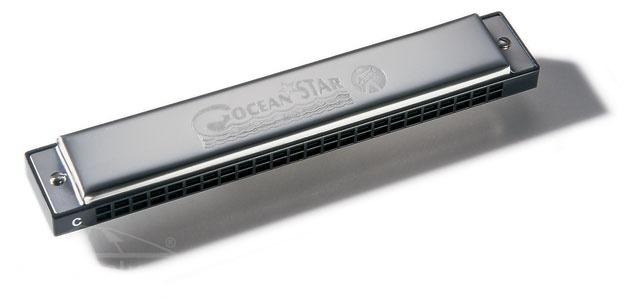 Hohner Ocean Star 48 C - foukací harmonika