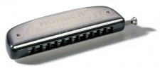 Hohner Chrometta 12 C - foukací harmonika