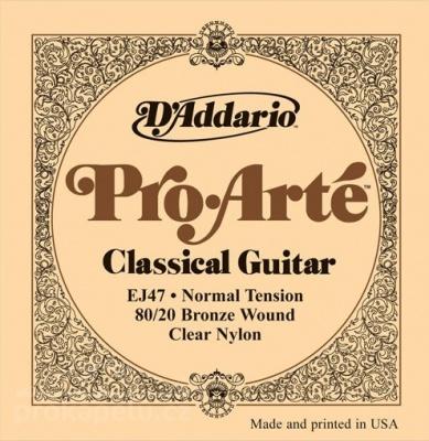 D'Addario EJ 47 - nylonové struny na klasickou kytaru
