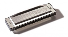 Hohner Silver Star F - foukací harmonika