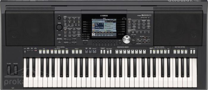 Yamaha PSR S950 - aranžovací pracovní stanice