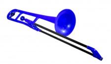 pBone blue - plastový pozoun