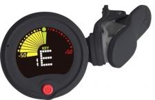 RockTuner CT 10 BK - chromatická ladička s vizuálním metronomem