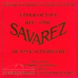 Savarez 670 R Upper Octave - nylonové struny pro klasickou kytaru (normal tension)