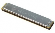 Golden Cup JH 024 G - diatonická foukací harmonika