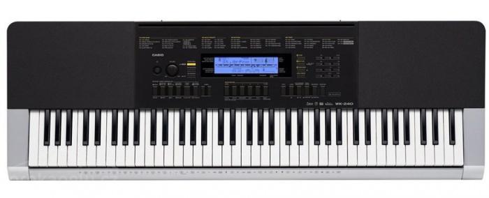 CASIO WK 240 - přenosné klávesy