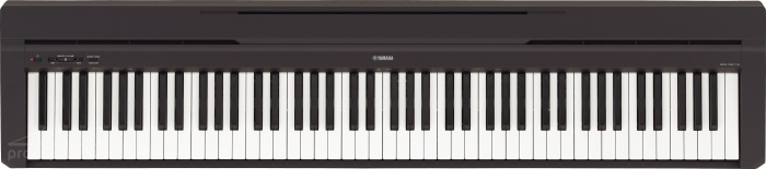 Yamaha P 45 B - přenosné digitální piáno