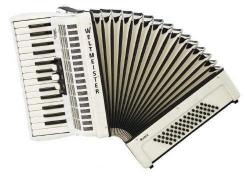 Weltmeister Model Rubin 30/60/II/3 - klávesový akordeon