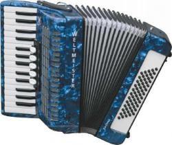 Weltmeister Model Kristall 30/60/III/5 - klávesový akordeon