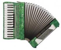 Weltmeister Model Achat 34/72/III/5/3 - klávesový akordeon