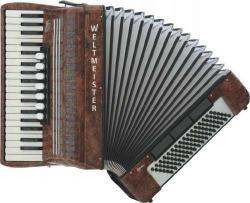 Weltmeister Model Opal 37/96/III/7/3 - klávesový akordeon