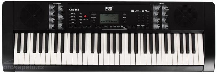Fox 168 - klávesy pro začátečníky