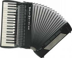Weltmeister Model Topas 37/96/III/7/3 - klávesový akordeon