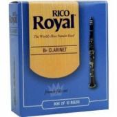 RICO Royal pro B klarinet - tvrdost 2,5