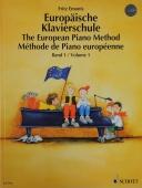 Evropská klavírní škola 1 - Emonts, Fritz