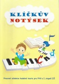 Klíčkův notýsek - učebnice HV pro 1. stupeň ZŠ