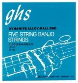 GHS PF 130 LIGHT - struny pro pětistrunné banjo