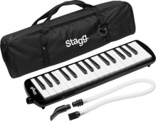 Stagg MELOSTA 32 BK -  klávesová foukací harmonika