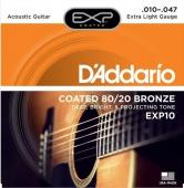 D'Addario EXP 10 - struny na akustickou kytaru 10/47