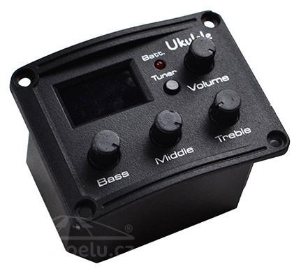 Smiger EQ UK 300 T - snímač ukulele