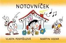 Notovníček - přípravka PHV - Vozar, Pospíšilová