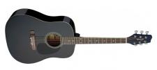 Stagg SA20 D BLK- westernová kytara