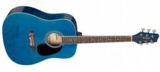 Stagg SA20 D BLUE- westernová kytara