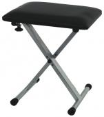 Truwer RSX 3 - klávesová stolička stříbrná