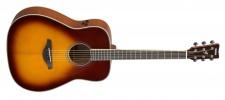 Yamaha FG TA Brown Sunburst - TransAcoustic kytara western