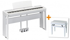 YAMAHA P515 WH DELUXE SET B