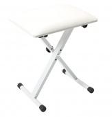 Truwer TD 90 White - klávesová stolička bílá
