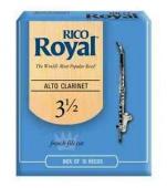 Plátek Rico Royal pro altový klarinet - tvrdost 3,5