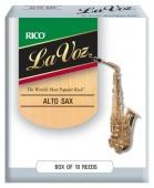 Plátek Rico LaVoz pro Altový saxofon - tvrdost HARD
