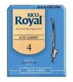 Plátek Rico Royal pro Eb klarinet - tvrdost 4