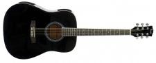 Truwer WG 4111 BK - westernová kytara černá