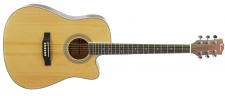 Truwer WM C 4115 NT - westernová kytara natural s výkrojem