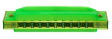Truwer L 417 B GR - zelená harmonika s pouzdrem