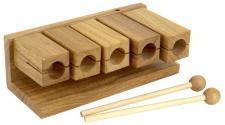 Truwer DP 255 - dřevěné agogo s paličkami