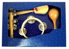 Truwer DP 561 - sada omalovávacích dřevěných perkusí