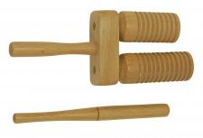Truwer DP 252 - dvojité dřevěné agogo