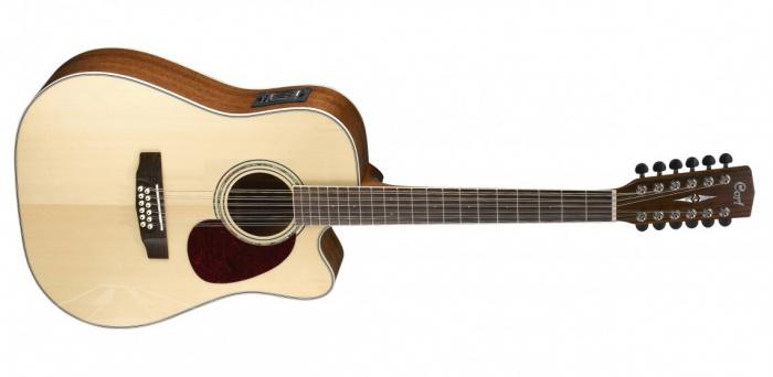 Cort MR710F12 NS - dvanáctistrunná elektroakustická kytara