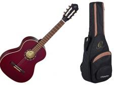 Ortega R 121 3/4 WR - klasická kytara s obalem