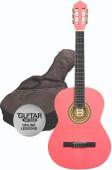 Ashton SPCG 12 PK Pack - klasická 1/2 kytara s obalem