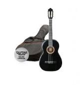 Ashton SPCG 12 BK Pack - klasická 1/2 kytara s obalem