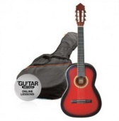 Ashton SPCG 12 TRB Pack - klasická 1/2 kytara s obalem