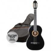 Ashton SPCG 34 BK - klasická 3/4 kytara s obalem