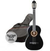Ashton SPCG 44 BK - klasická kytara s obalem