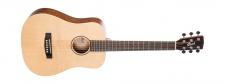 Cort Earth MINI OP - zmenšená akustická kytara s obalem